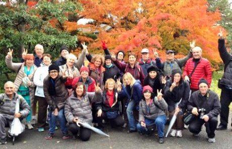 """הפואמה הקיסרית אודות ביקור קבוצת """" יפן – חוויה אחרת """" ביפן"""